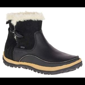 Merrill tremblant boots leather fur 8.5
